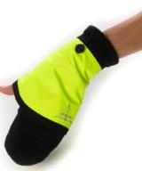 Georgia in Dublin Gloves & Cuffs – High Viz Yellow