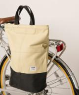 Linus Sac Bike Pannier Bag Sand & Black