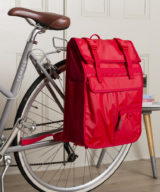 Goodordering Rolltop Backpack/ Pannier – Red