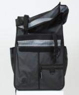 Goodordering Rolltop Backpack/ Pannier – Black