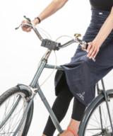 Georgia in Dublin Black Rainwrap – Cyclechic Award Winner