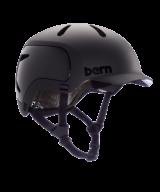 Bern Watts Bike Helmet 2.0 in Matte Black
