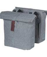 Basil City Double Panniers in Grey