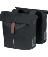 Basil City Double Cycling Pannier in Black