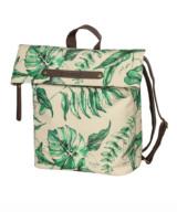 Basil Ever-Green Backpack Pannier in Sandshell Beige