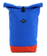 Braasi Rolltop Backpack Cordura – Red and Blue